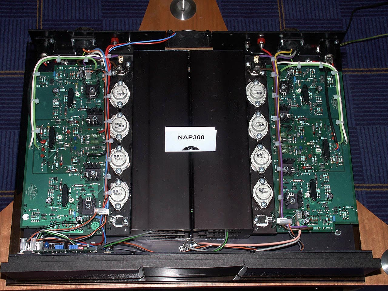 Modifying Naim Audio Power Amplifiers Wiring A Capacitor To 2 Amps