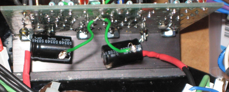 Modifying Naim Audio power amplifiers